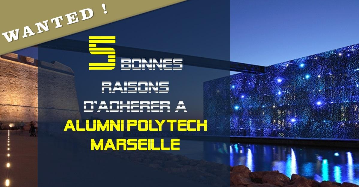 5 bonnes raisons d'adhérer à Alumni Polytech Marseille
